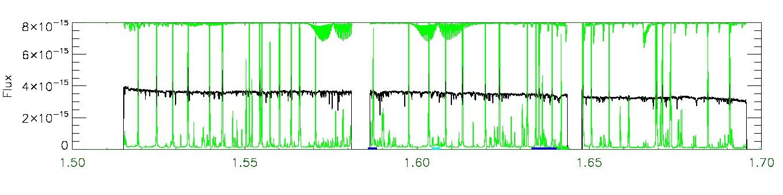 APOGEE infrared spectrum of 2M08105866+2807222
