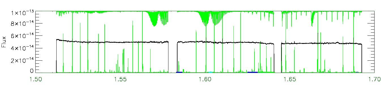 APOGEE infrared spectrum of 2M05365925-0609164